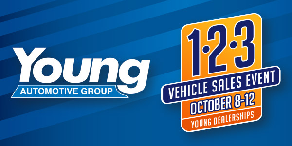 Young Automotive Group Tent Sale