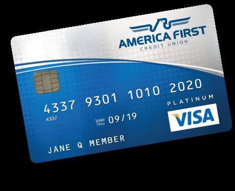 Visa Credit Card Back Visa Platinum C...