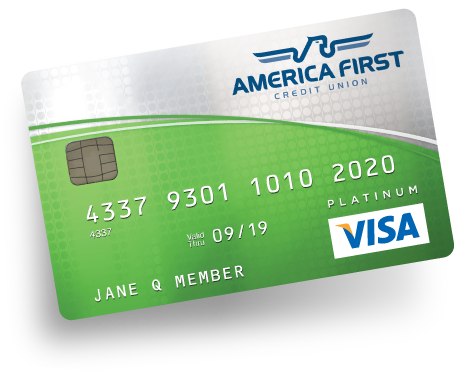 Visa Platinum Credit Card America First Credit Union